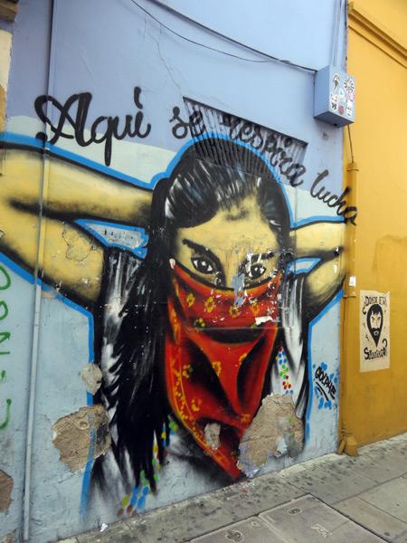 A mural in Oaxaca City, Mexico.