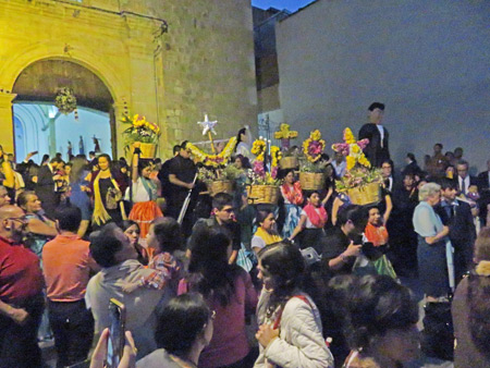 Chaos ensues at a wedding in Oaxaca City, Mexico.