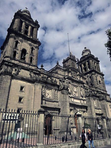 The Catedral Metropolitana de Mexico in Mexico City, Mexico.