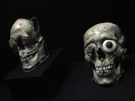 I want your skulls at the Museo Templo Mayor in Mexico City, Mexico.