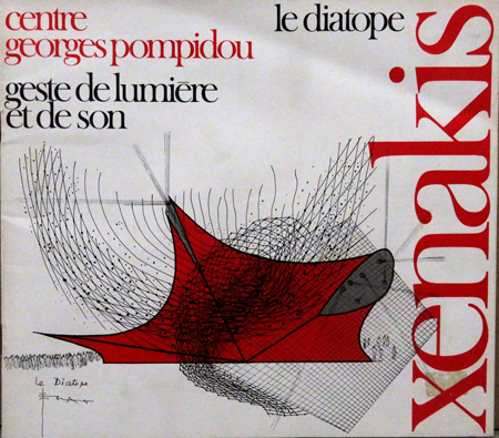Iannis Xenakis, Le Diatope program.