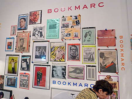 Bookmarc at the Printed Matter LA Art Book Fair 2015.