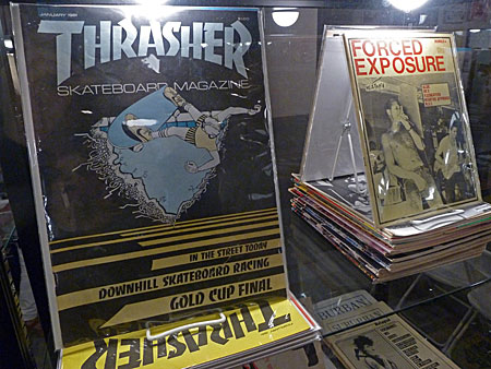 Thrasher and Forced Exposure at the Printed Matter LA Art Book Fair 2015.