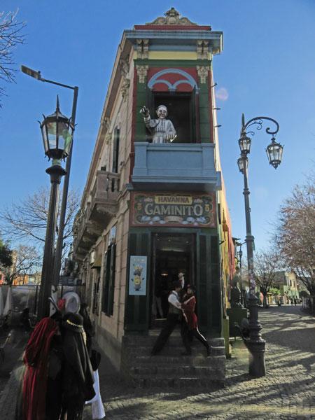 Havanna Caminito in La Boca, Buenos Aires, Argentina.