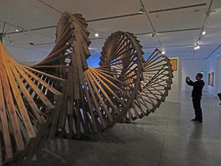Luis Teran, Espiral, (2013-'18) at El Museo de Arte Moderno de Buenos Aires in Buenos Aires, Argentina.
