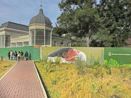 The Eco Parque in Palermo, Buenos Aires, Argentina.