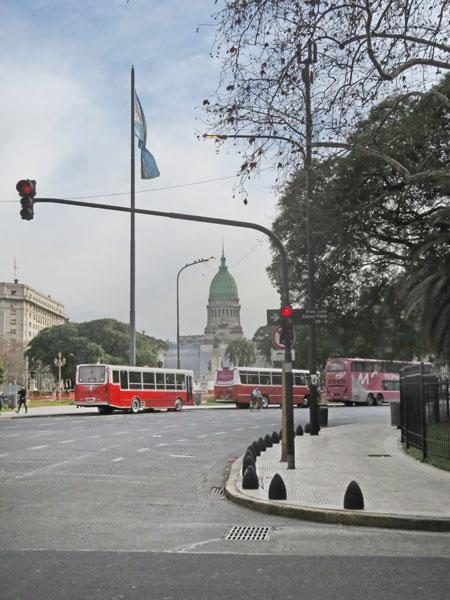 Palacio del Congreso Nacional Argentino in Buenos Aires, Argentina.
