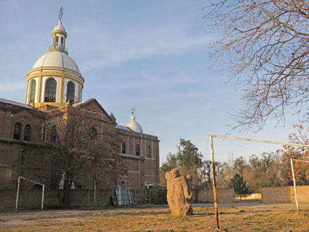 Iglesia Nuestra de la Merced in Mendoza, Argentina.