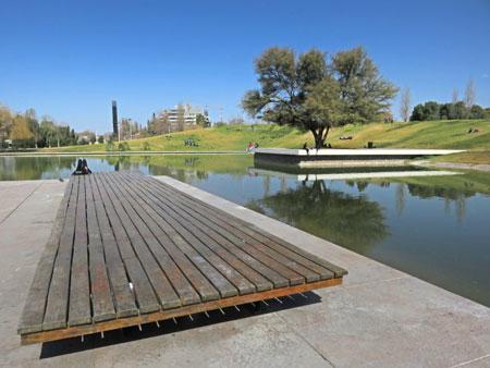 Parque Central in Mendoza, Argentina.