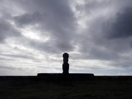 Ahu Tahai in Hanga Roa, Rapa Nui, Chile.