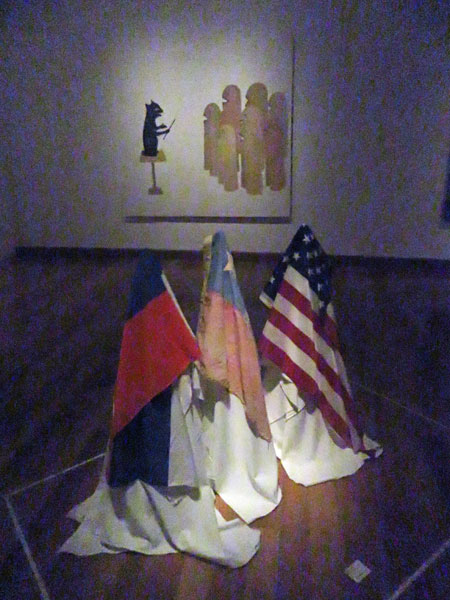 Dialogos by Julia San Martin at the Museo de Artes Visuales in Santiago, Chile.