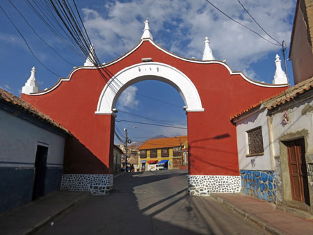 Another arch in Potosi, Bolivia.