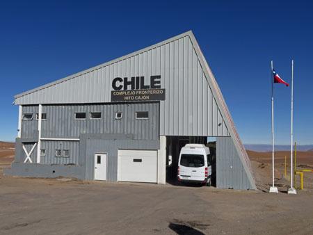 Goodbye, Chile.