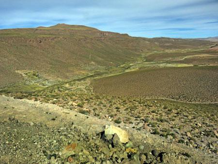 A quick stop at Sora Canyon in the Reserva Nacional de Fauna Andina Eduardo Avaroa, Bolivia.