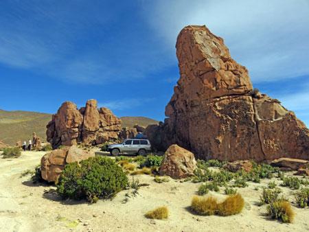 Welcome to the Valle de Rocas in the Reserva Nacional de Fauna Andina Eduardo Avaroa, Bolivia.