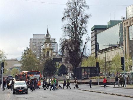 Goodbye, Santiago, Chile.