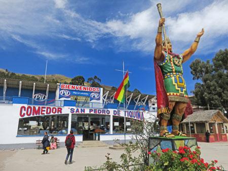 Welcome to San Pedro de Tiquina, Bolivia.