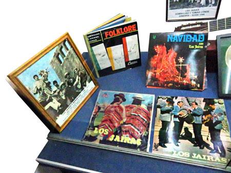 More rare, vintage Bolivian vinyl at the Museo de Instrumentos Musicales in La Paz, Bolivia.