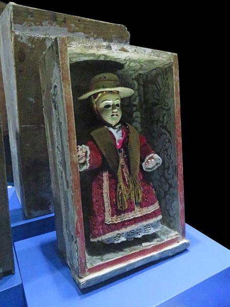 Retablo Con el Nino Jesus at the Museo Nacional de Etnografia y Folklore in Sucre, Bolivia.