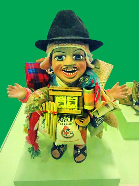 El Ekeko at the Museo Nacional de Etnografia y Folklore in Sucre, Bolivia.