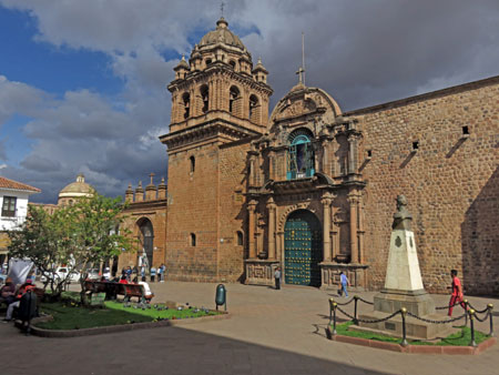 The Minor Basilica de la Merced in Cuzco, Peru.