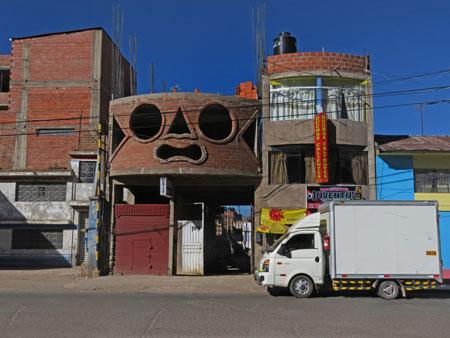 Here's lookin' at you, kid. Puno, Peru.