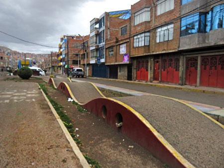A whoop-dee-do in Puno, Peru.
