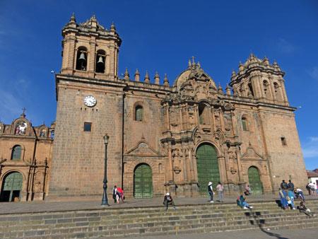 The Catedral de Cuzco in Cuzco, Peru.