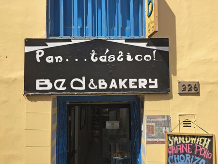 Pantastico Bed and Bakery in Cuzco, Peru.