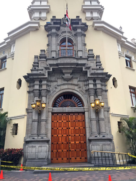 Miraflores City Hall in Lima, Peru.
