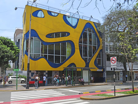 The Amoeba Research Institute in Lima, Peru.