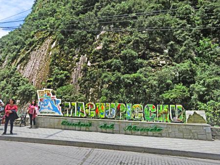 Welcome to Machu Picchu, Peru.